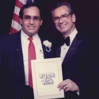 Dave with America's Motivational and Personal Development Expert Zig Ziglar