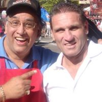 Famous Dave with UFC's Fighting Hall of Famer Ken