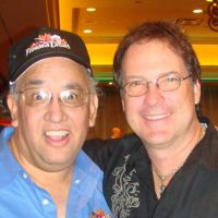 Famous Dave with Craig Duswalt, former personal manager for Axl Rose of Guns N' Roses and Air Supply