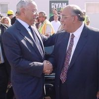 Famous Dave with US Secretary of State and Four Star General The Honorable Colin Powell