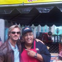 Famous Dave  Rockin Out in Times Square with Nashville Music Star Phil Vasser!